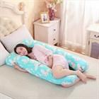 Большая подушка для беременных и кормления в форме U - гениально и просто