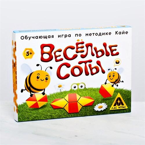 Развивающая игра «Весёлые соты» по методике Кайе - фото 105495991