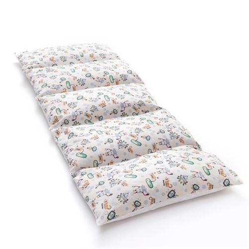 Матрасик с подушками «Роботы» двусторонний 70×190 см, бязь/спанбонд - фото 105559445
