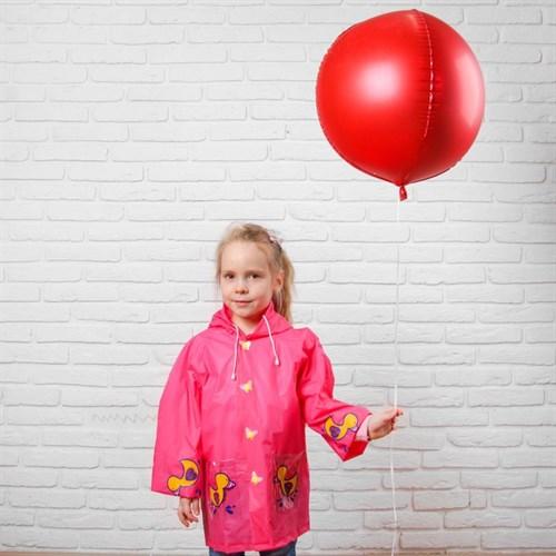 Дождевик детский на кнопках с капюшоном «Уточка» р-р XL - фото 105568407