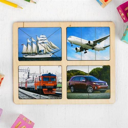 Разрезные картинки «Транспорт» - фото 105598441