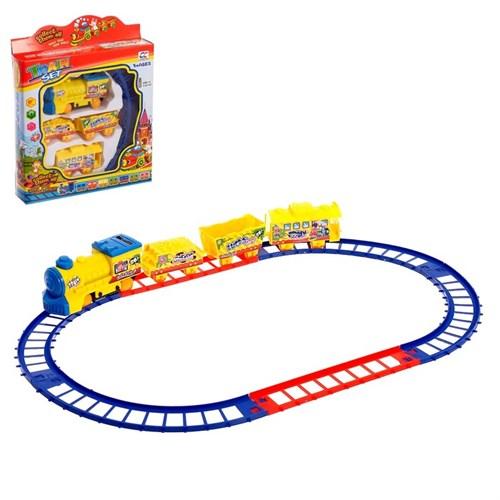 Железная дорога «Путешествие», работает от батареек - фото 105643470