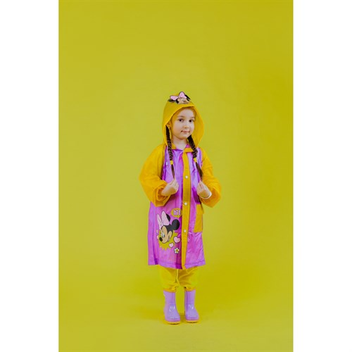 "Дождевик детский ""Hi!"" Минни Маус, размер S в наличии - фото 105769784"