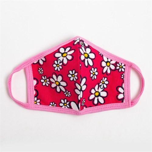 Повязка тканевая для девочки, цвет розовый микс, возраст 7-12 лет в наличии - фото 105802395