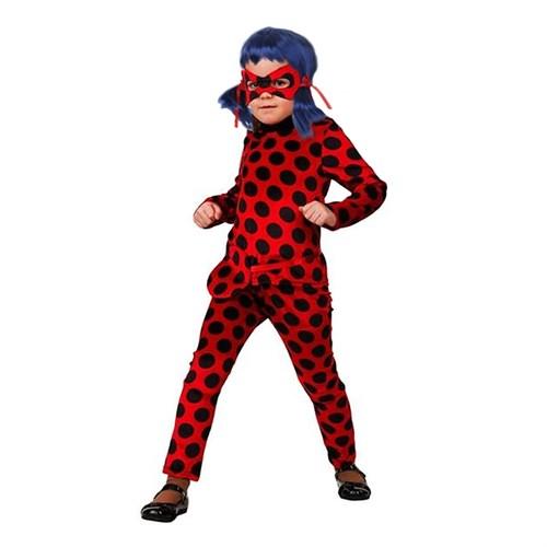 Карнавальный костюм «Леди Баг», р. 28, рост 110 см - фото 105872001