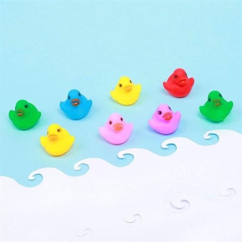 Набор пищалок для ванны «Утята», 8 шт. в наличии - фото 106124934