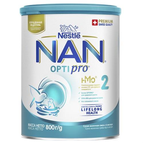 NAN 2 OPTIPRO смесь для роста, иммунитета и развития мозга 800 г с 6мес - фото 106396314