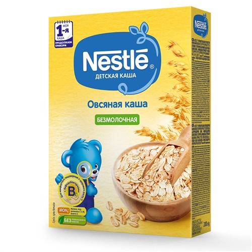 Каша Nestlé Безмолочная овсяная для продолжения прикорма 200г с бифидобактериями BL - фото 87343180