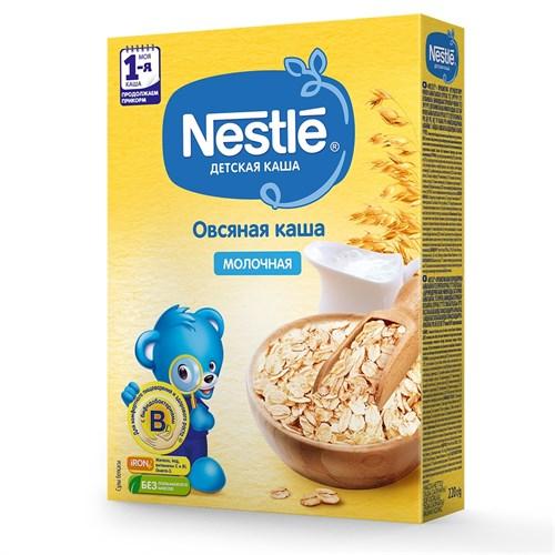 Каша Nestle Молочная овсяная для продолжения прикорма 220г с бифидобактериями BL - фото 87343231