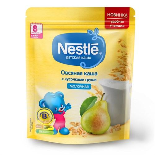 Каша Nestle Молочная овсяная с кусочками груши с 8 мес 220г с бифидобактериями BL - фото 87343255