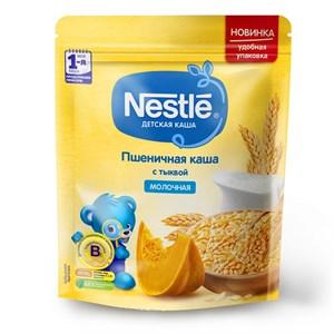 Каша Nestle Молочная пшеничная с тыквой для продолжения прикорма 220г с бифидобактериями BL ПР