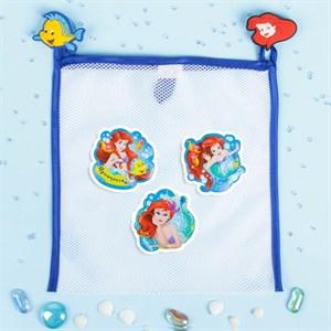 """Сетка для хранения игрушек """"Русалочка"""" Принцессы: Ариель +набор объемных наклеек в наличии"""