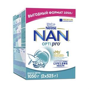 NAN 1 OPTIPRO смесь для роста, иммунитета и развития мозга 1050г с 0мес