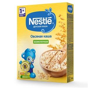 Каша Nestle Безмолочная овсяная для продолжения прикорма 200г с бифидобактериями BL