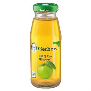 Gerber Сок яблочный осветленный первая ступень 175 мл