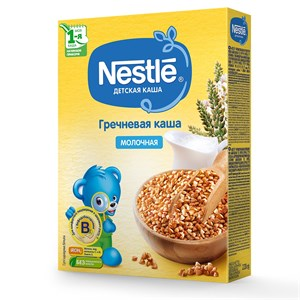 Каша Nestle Молочная гречневая для начала прикорма 220г с бифидобактериями BL