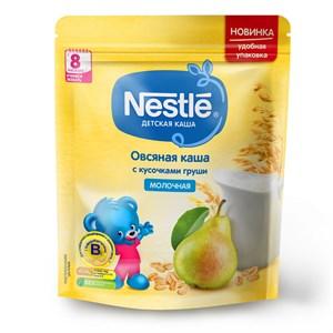 Каша Nestle Молочная овсяная с кусочками груши с 8 мес 220г с бифидобактериями BL
