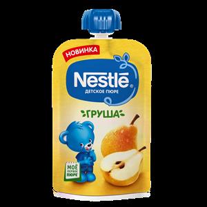 Nestle Груша Пюре пауч с 4мес 90г