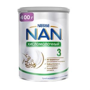 NAN 3 Кисломолочный напиток для улучшения пищеварения 400 г с 12 мес для специальных потребностей