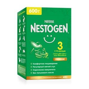 Nestogen 3 молочко для комфортного пищеварения с пребиотиками и лактобактериями с 12 месяцев, 600 г